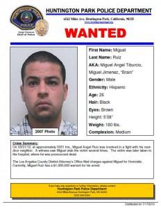 Miguel Ruiz suspect photo