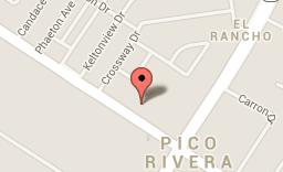 Location of murder in Pico Rivera.