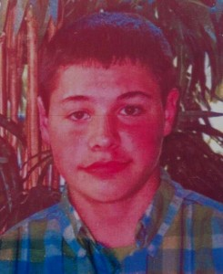 Missing teen Tyler James Wilson.