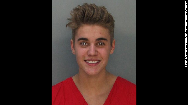 "Justin Bieber was charged with drunken driving, resisting arrest and driving without a valid license after police saw the pop star street racing in a yellow Lamborghini in Miami on January 23. ""What the f*** did I do?"" he asked the officer. ""Why did you stop me?"" He was booked into a Miami jail after failing a sobriety test."