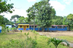 Above is the class room in Nicaragua that has been the focus of a fundraising effort on the Gahr High School campus.