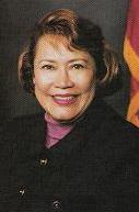 Sally Havice calls on Senator Ronald Calderon to resign.