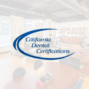 California Dental Certifications