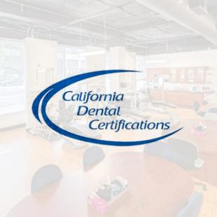 California Dental Certifications