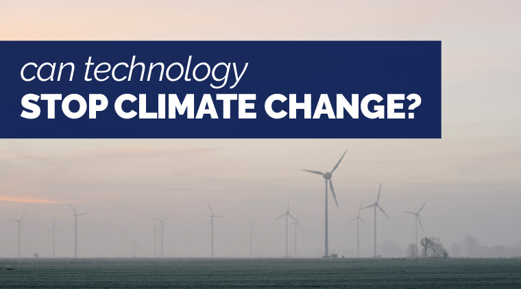 Can Technology Stop Climate Change?