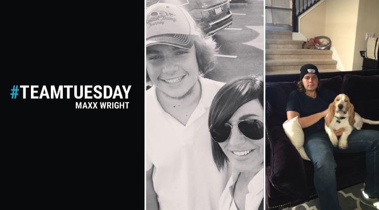 #TeamTuesday – Maxx Wright