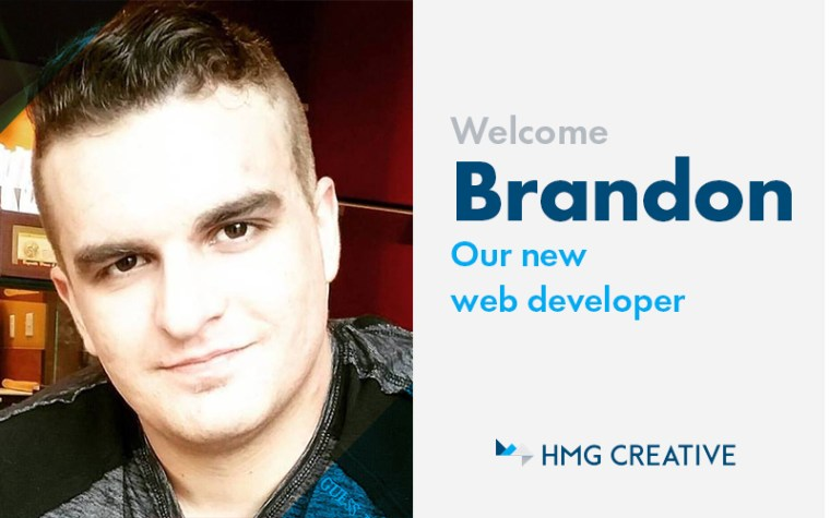 Meet Brandon, Our New Web Developer