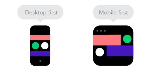mobile vs. desktop design icons