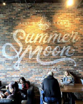 Austin Coffee Shop: Summer Moon