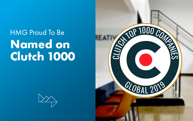 HMG Creative Proud to Be Named on Clutch 1000