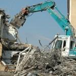 crash, site, crane