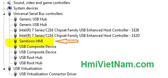 Samkoon USB Driver