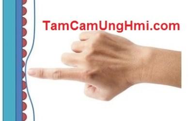 Tấm cảm ứng HMI