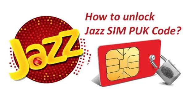 Mobilink Jazz SIM PUK Code Unlock