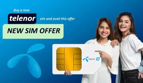 Telenor New SIM Offer