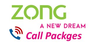 Zong Call Packages Daily Weekly and Monthly