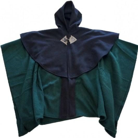 open front cape