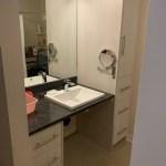 Roll-under Bathroom Sink