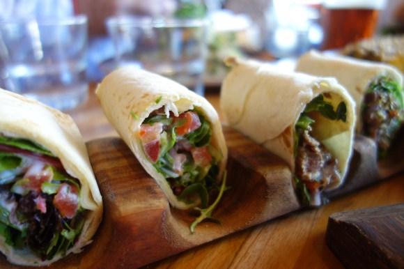 Mini lamb kebabs