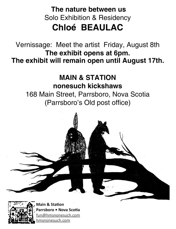 Chloé Beaulac- Poster for Opening-08-14