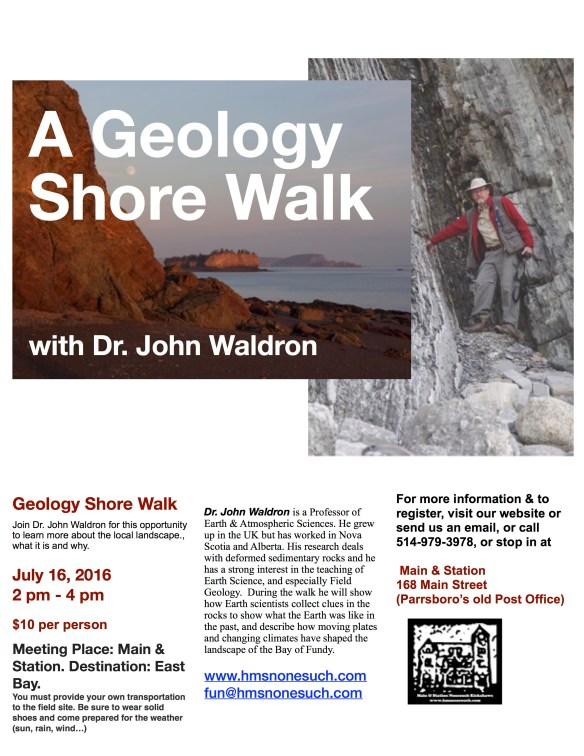 Geology Shore Walk_