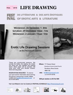 erotic life drawing _feal