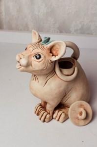 Sphynx teapot