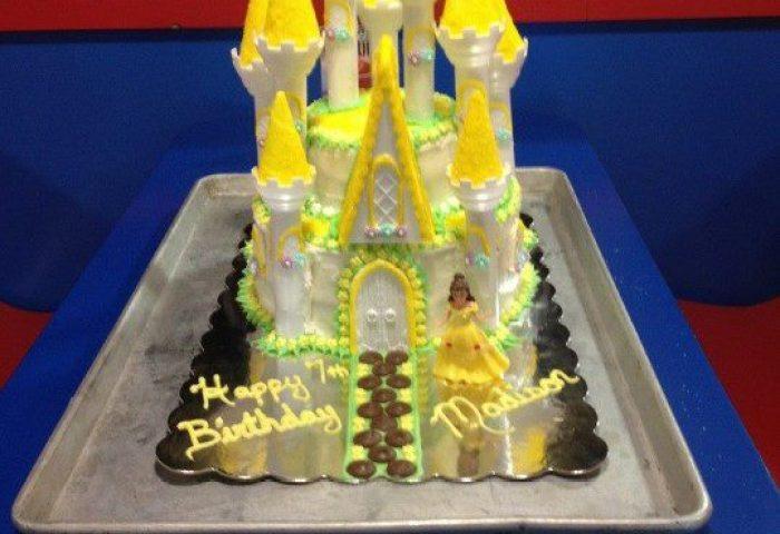 Disneys Belle Castle Cake Her Majestys Tasty Treats