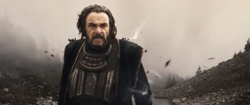 John Rhys-Davies gives the film's best performance as Merick the mage