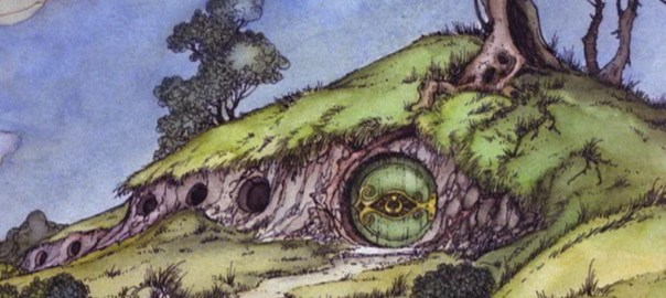 Bag End in the 1977 The Hobbit cartoon by Rankin/Bass