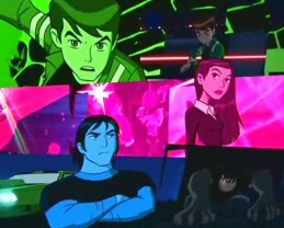 The underwhelming title sequence to the first awful Ben 10 spin-off.
