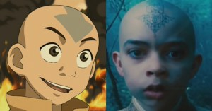 Aang compared with the henna-clad Noah Ringer