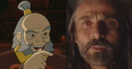 Uncle Iroh compared with his inferior counterpart from the movie.
