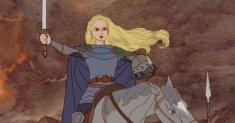 Éowyn of Rohan in the Rankin/Bass cartoon.