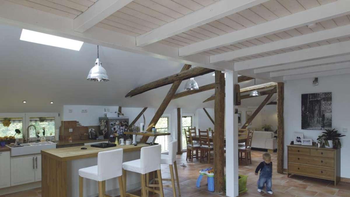 Hausbesuch: Sanierung einer Scheune in Gudensberg Wohnen