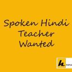 spoken hindi teacher