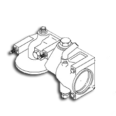 Navistar Engine Hard Parts: Oil Cooler Filter End Cap