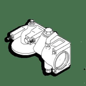 Navistar Engine Parts: Oil Cooler Filter End Cap 1841745C92