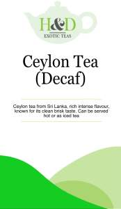 Cylon Tea (Decaf)