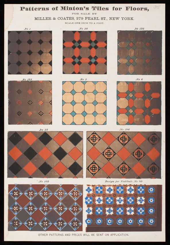 patterns of minton s tiles for floors