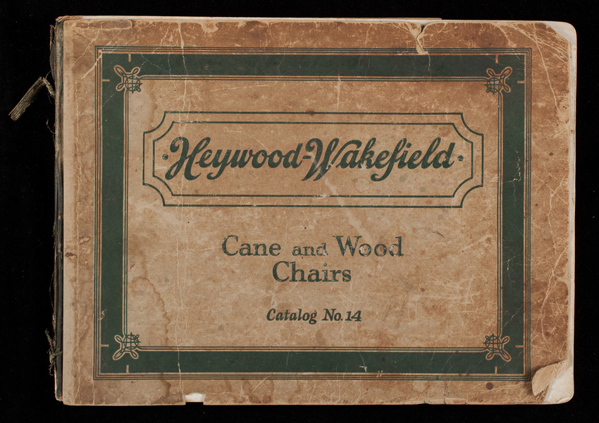 Heywood Wakefield Cane And Wood Chairs Catalog No 14
