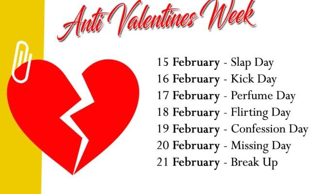 Valentine S Week List 2020 Dates Schedule Love Day