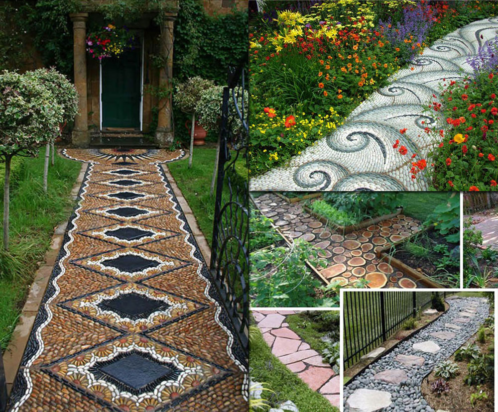 lovely garden path and walkways