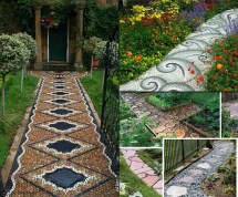 Walkway Garden Path Ideas
