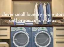 10 clever small laundry room storage and organization ...