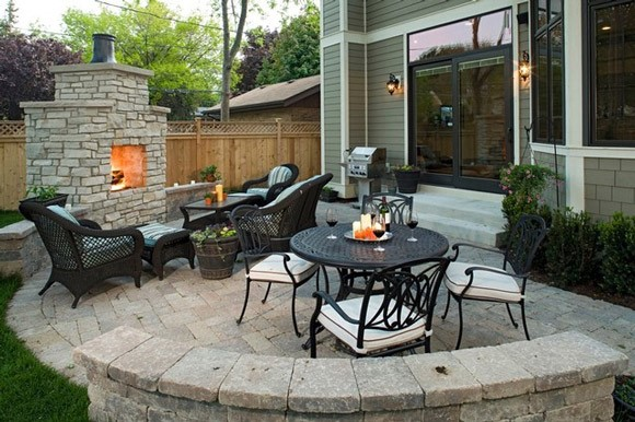 back yard patio design idea 15 Fabulous Small Patio Ideas To Make Most Of Small Space