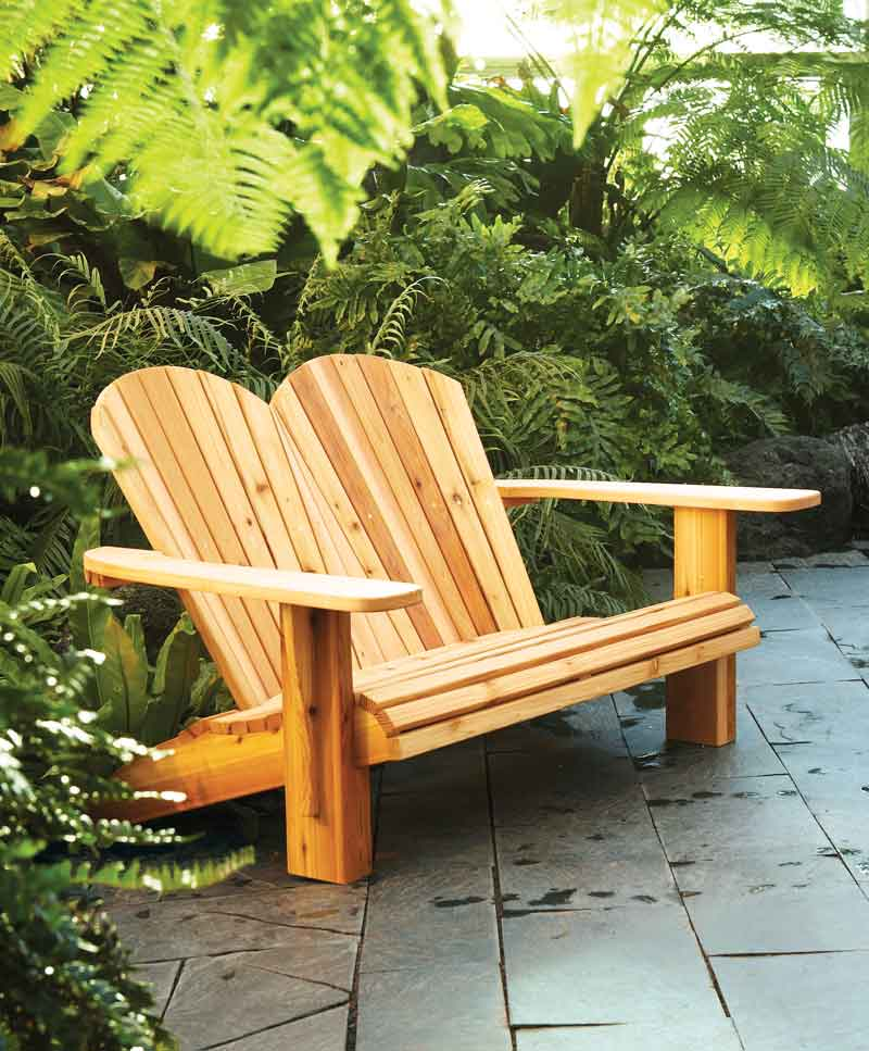 how to build an adirondack chair swing for adults 40 free diy plans your deck porch or yard loveseat