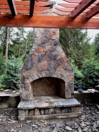 12 Outdoor Fireplace Plans