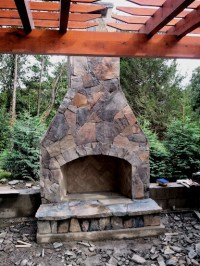 12 Outdoor Fireplace Plans-Add Warmth and Ambience to ...