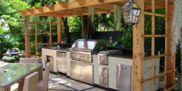 diy outdoor patio kitchen ideas 17 Outdoor Kitchen Plans-Turn Your Backyard Into Entertainment Zone – Home And Gardening Ideas